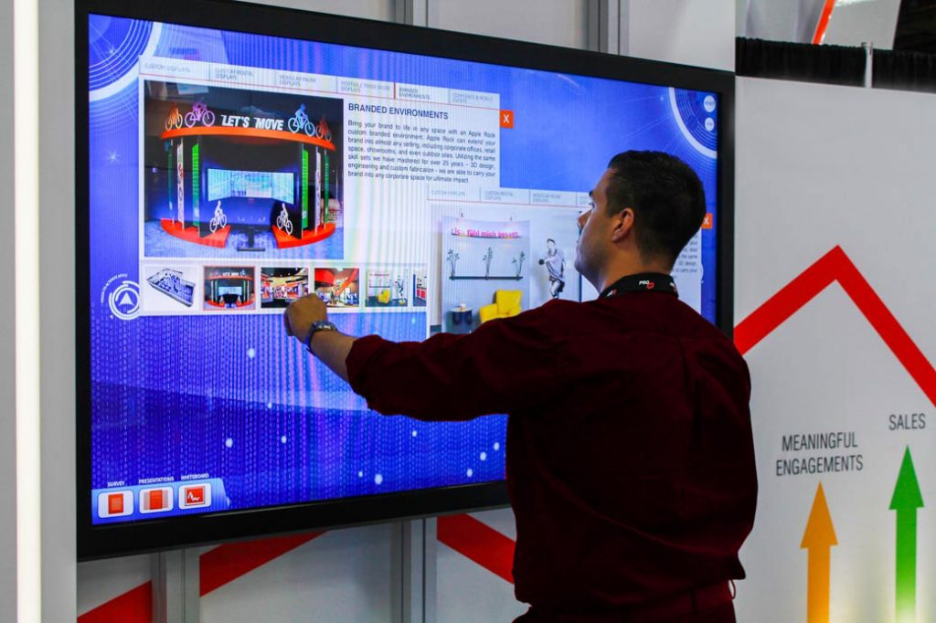 pantallas tactiles interactivas alquiler